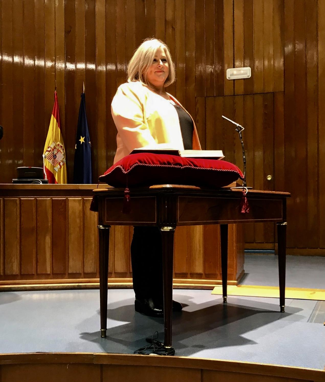 Nombramiento de Ana Lima como Secretaria de Estado de Servicios Sociales 22 de octubre 2018