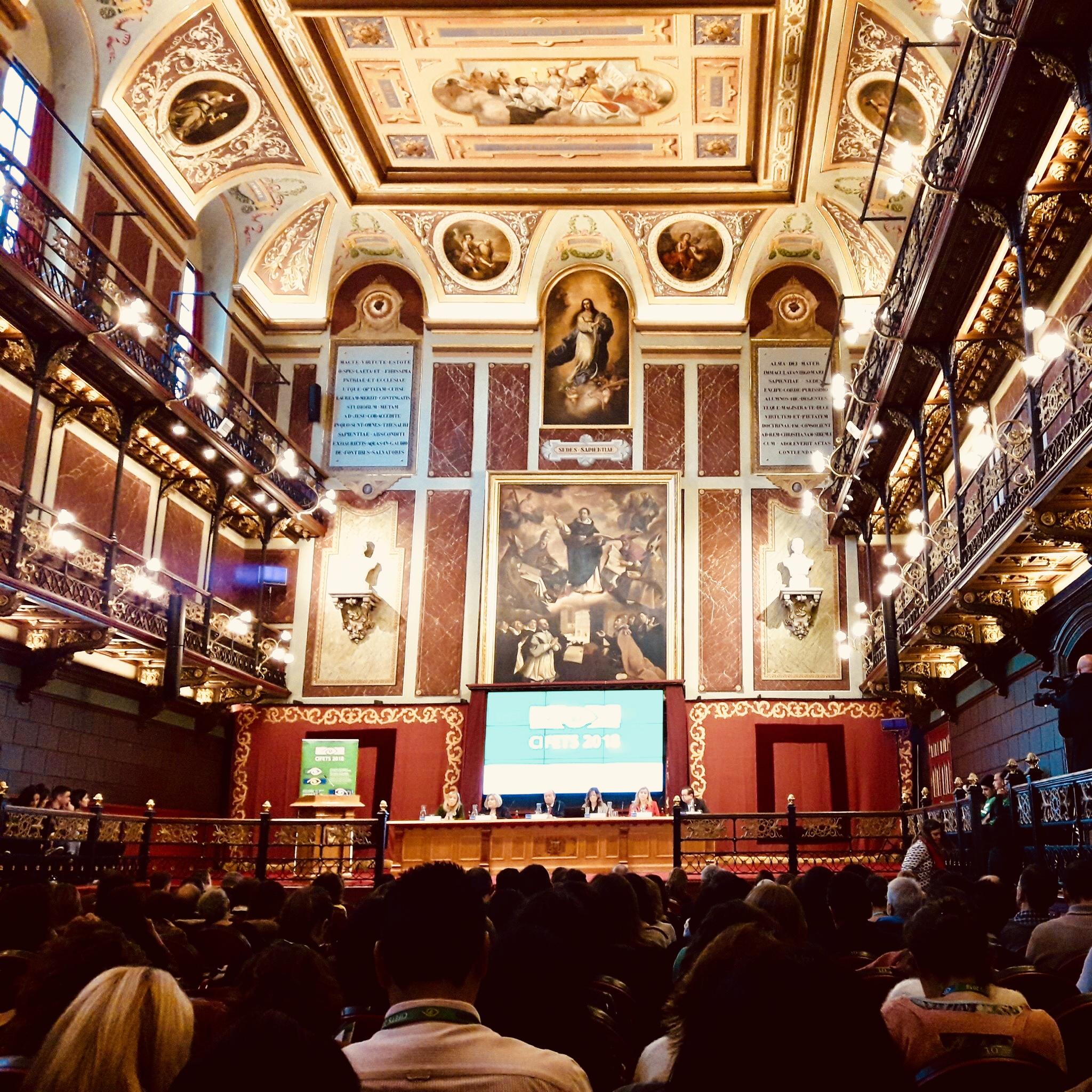Discurso de Ana Lima en el  III Congreso Internacional y XII Congreso de Facultades y Escuelas de Trabajo Social (CIFETS 18), 14 de noviembre 2018