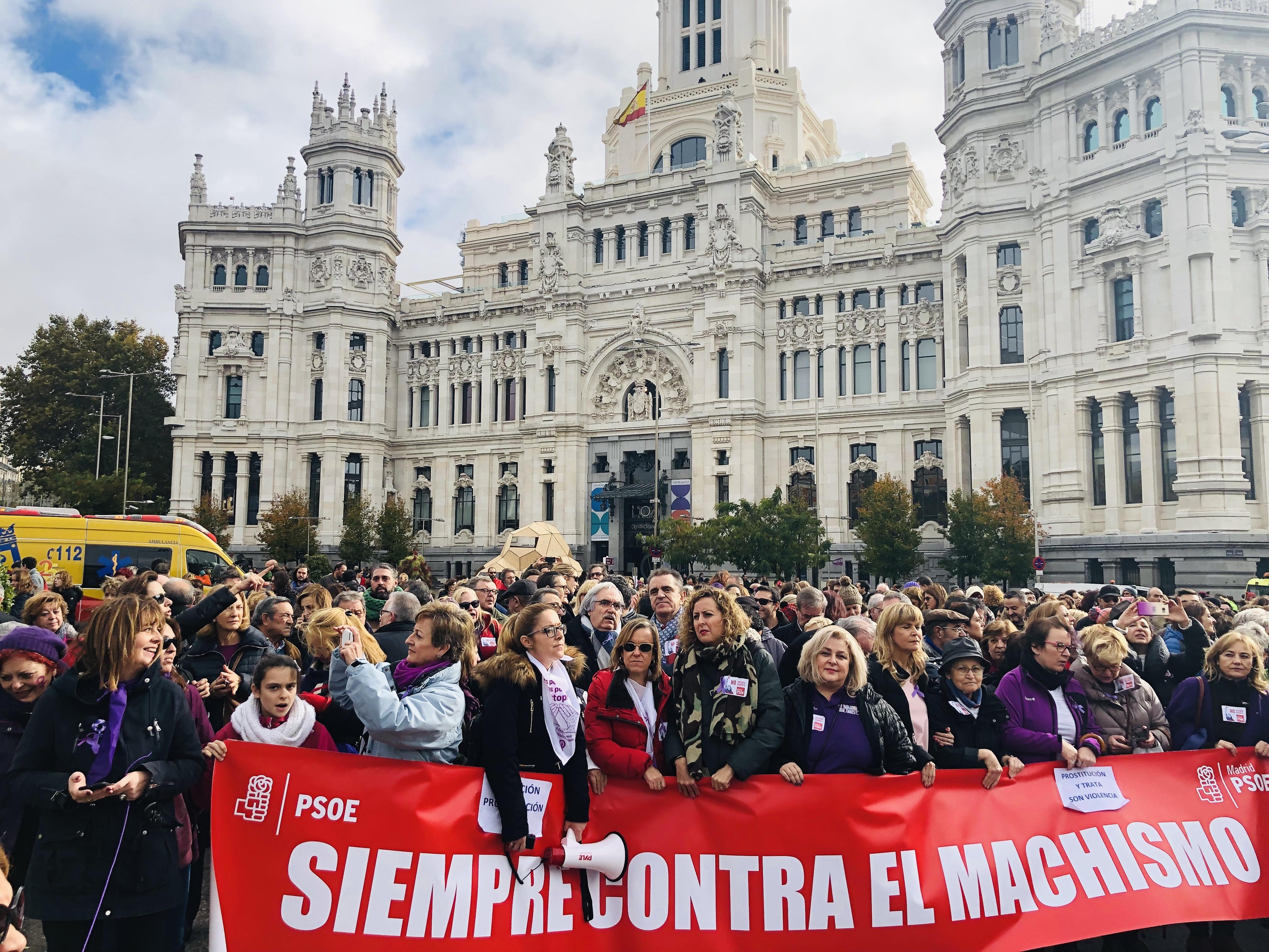 Manifestación 25N, 2018