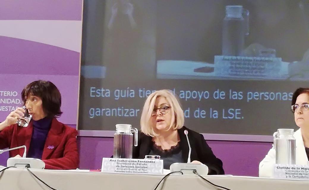 La lengua de signos española en los medios de comunicación, 30 de noviembre 2018