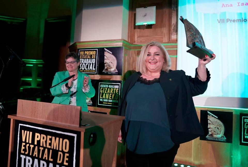 Premio Estatal del Trabajo Social 2019. Ana Lima