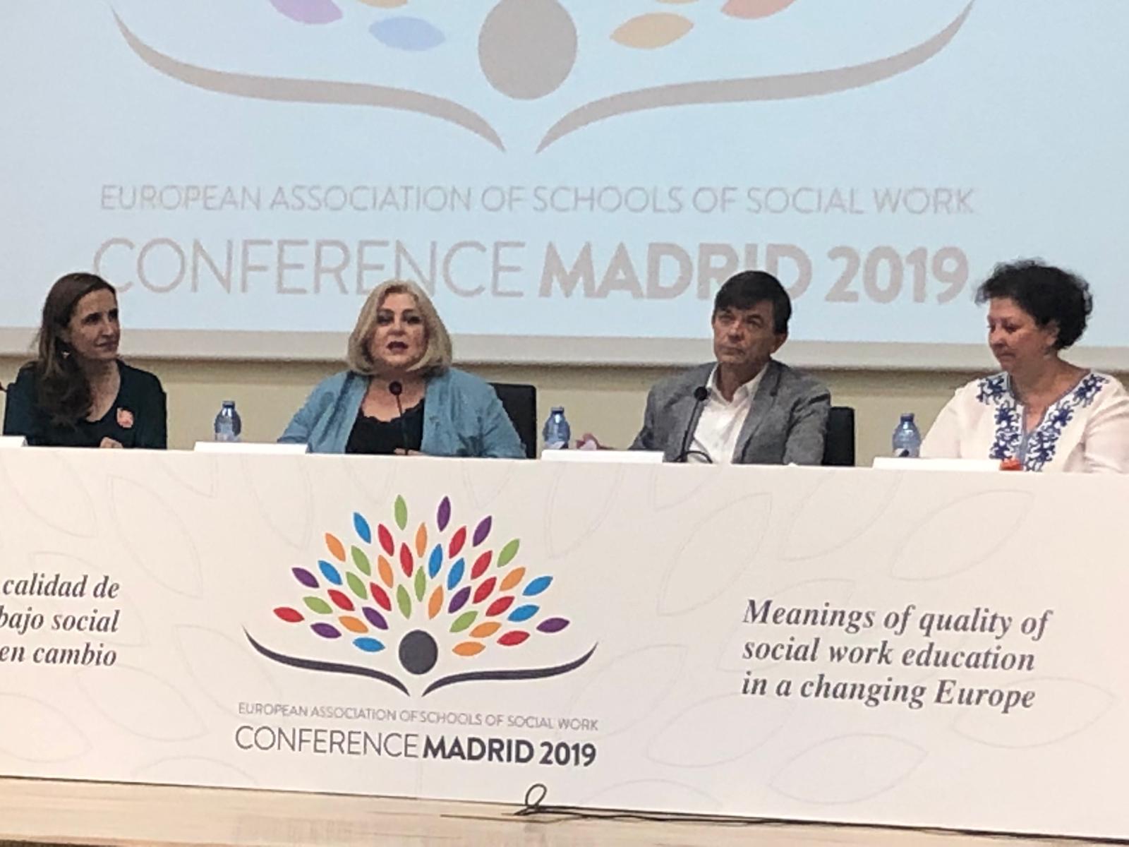 El trabajo social por una Europa más social