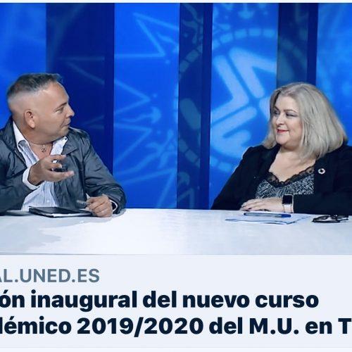 Sesión Inaugural Máster UNED 2019 Ana Isabel Lima y Alfredo Hidalgo